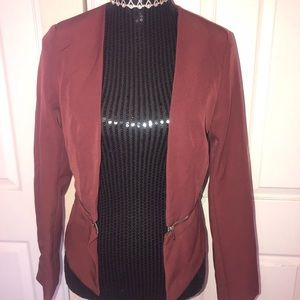 Windsor Zipper Blazer